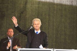 Geert Wilders rally